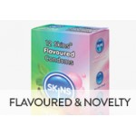 Flavoured, Coloured, Novelty