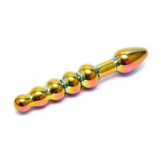Sensual Multi Coloured Glass Laila Anal Probe