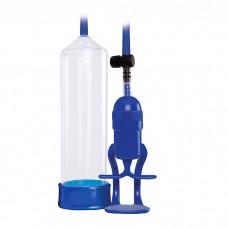 Renegade Bolero Penis Pump Blue
